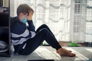 dziecko podczas pandemii